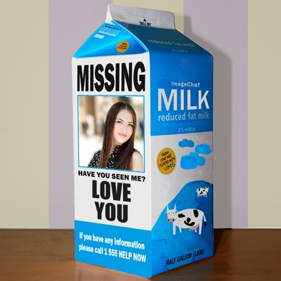 Missing Milk Royalty Free Stock Image - Image: 23280676 |Missing Person Milk