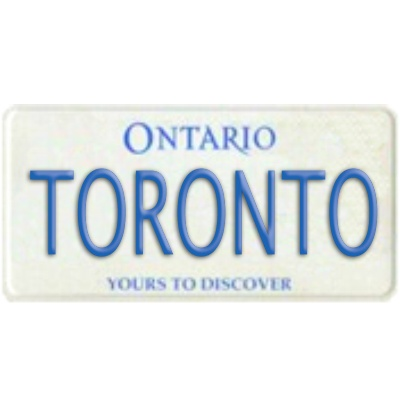 Ontario License Plate