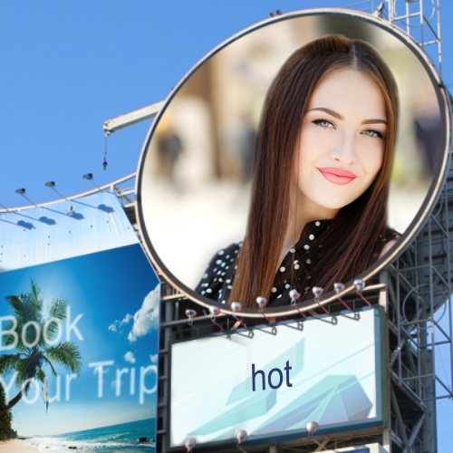 Billboard in Circle