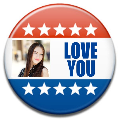 election campaign button photo imagechef